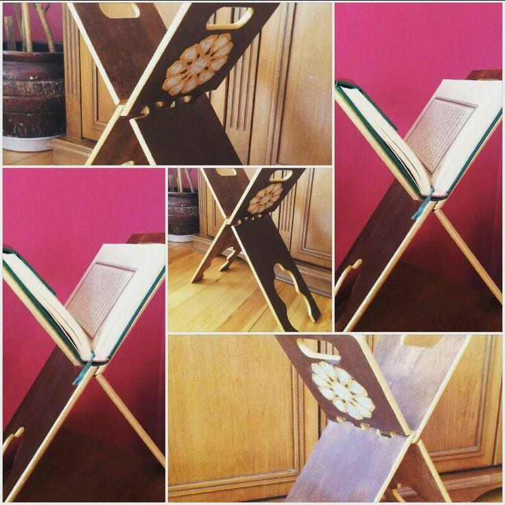 Sedef Kakma Rahle   #sedef #rahle #kakma #kuran #handcraft #handmade #wood #elemeği  #göznuru #gold #altın #inci #brown