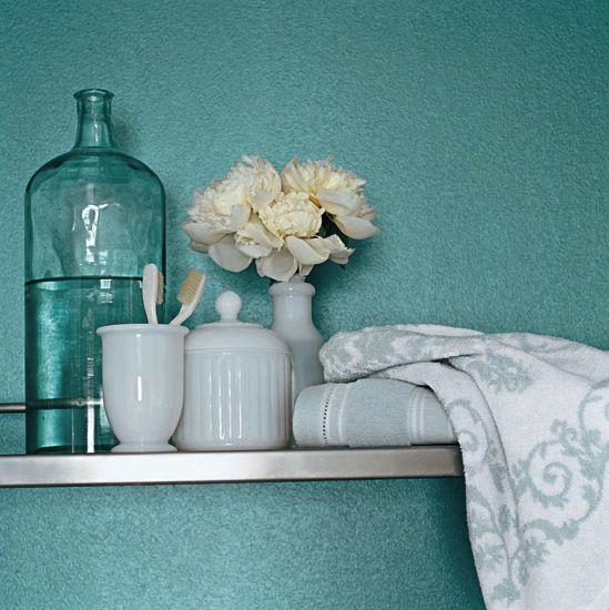 1000 ideas about metallic paint walls on pinterest - Metallic blue interior wall paint ...