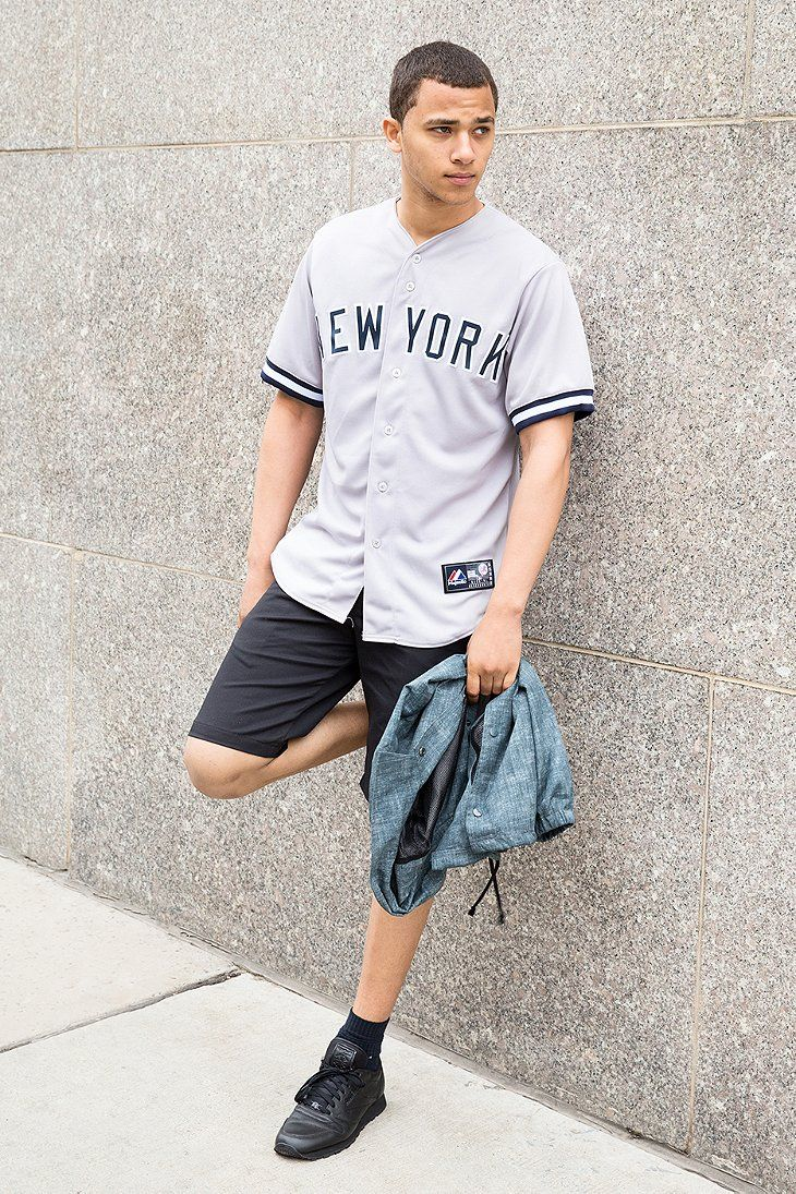 Majestic New York Yankees Baseball Jersey Tee