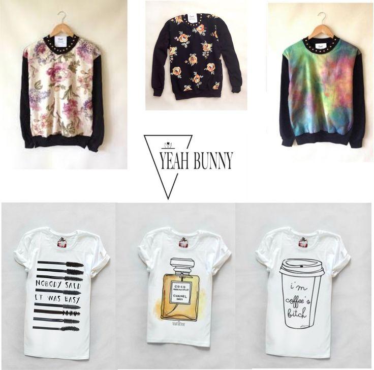Leć po bluzę! #YeahBunny #Prezent  #T-shirt #koszulkaznadrukiem #ForumMody #zakupy