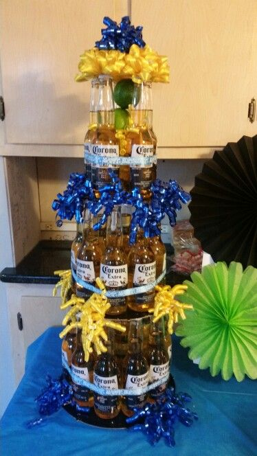 Corona beer tower beer bash