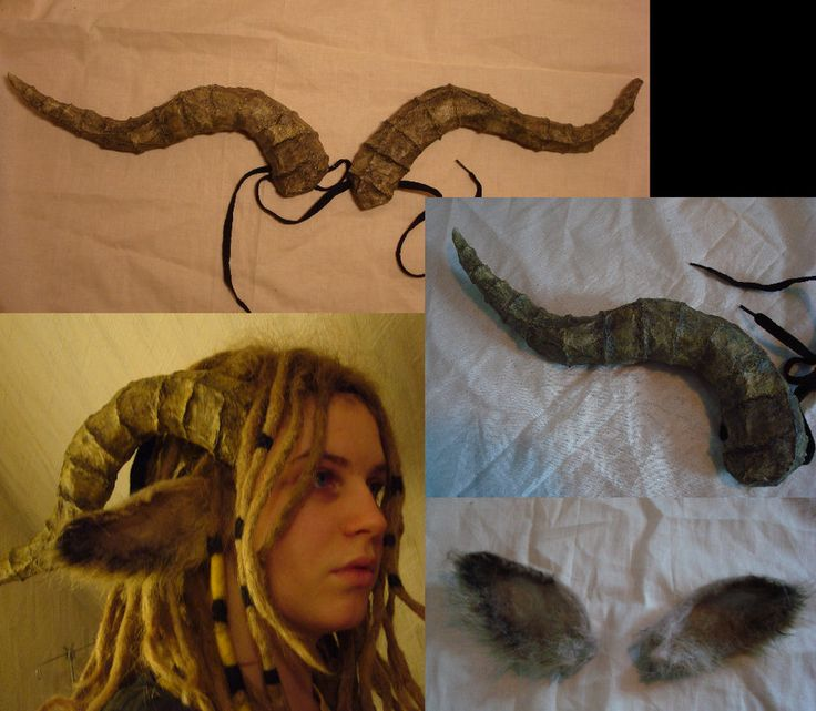 Incredible ears and horns (they look great with the dreads).