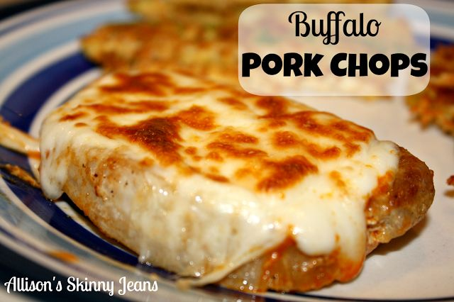 Allison's Skinny Jeans: Buffalo Pork Chops These were delish! Easy to make---low carb favorite!