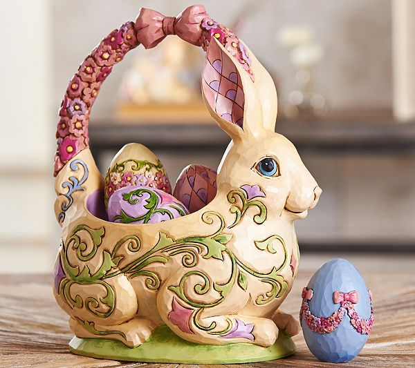 95 best jim shoreeaster collection images on pinterest jim o jim shore heartwood creek 13th annual easter basket figurine negle Image collections