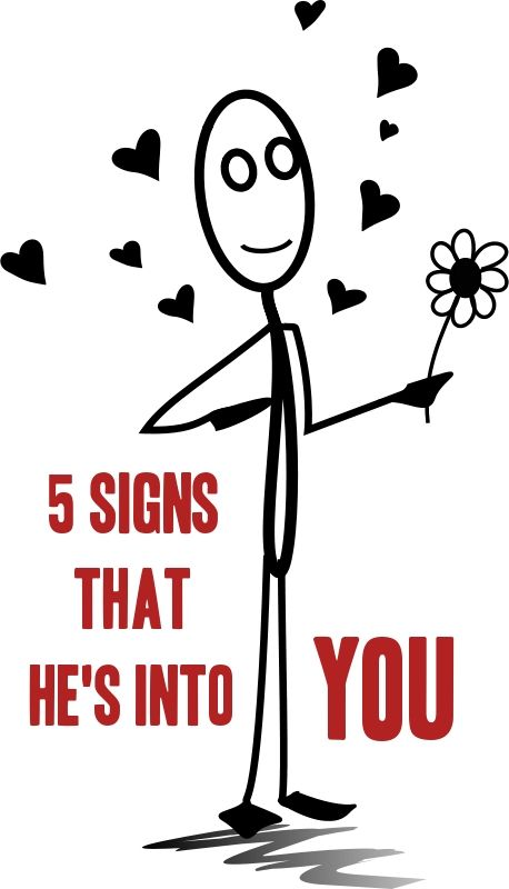 signs man is into you
