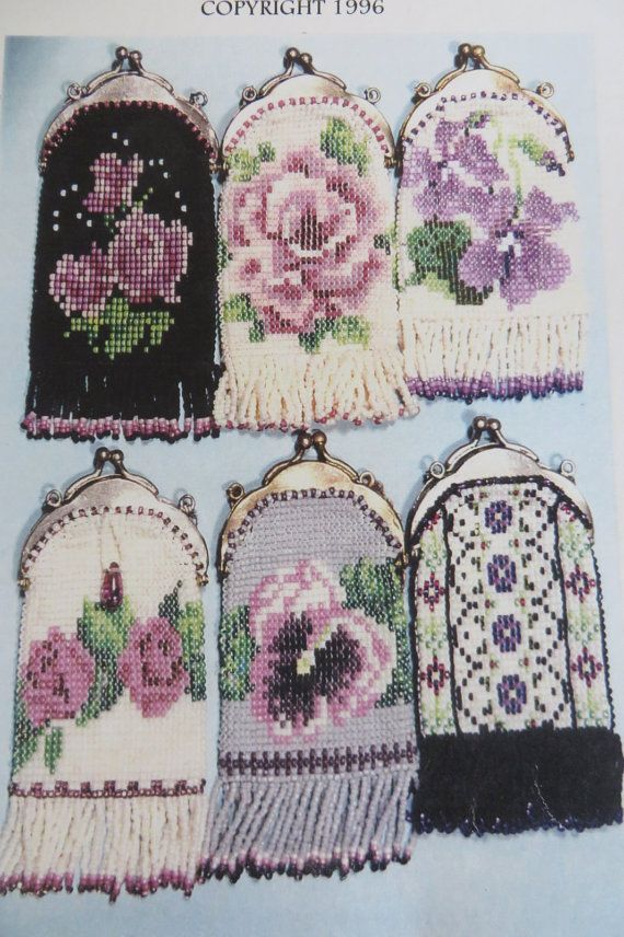 Thurlow Originals Patterns for making Beaded Purses.  BY: Thurlow of Kent WA....98031  Victorian Style