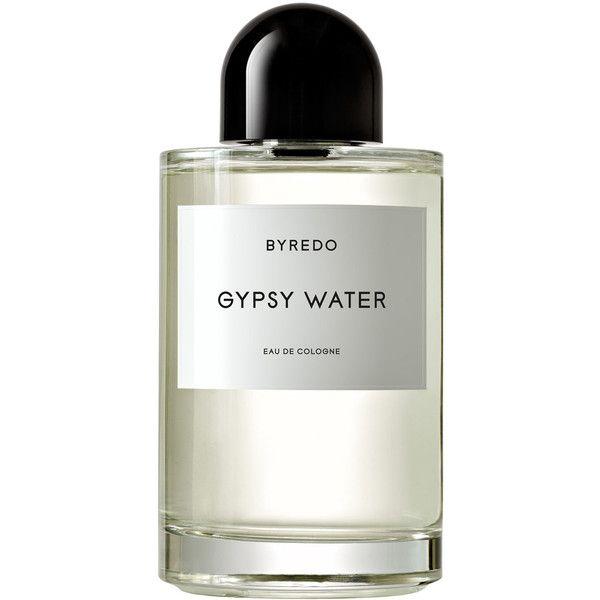 Byredo Parfums Gypsy Water Eau de Cologne 250ml featuring polyvore, beauty products, fragrance, beauty, perfume, fillers, makeup, heart perfume, perfume fragrances, byredo and lemon perfume