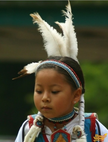 Child Dancer, Native American