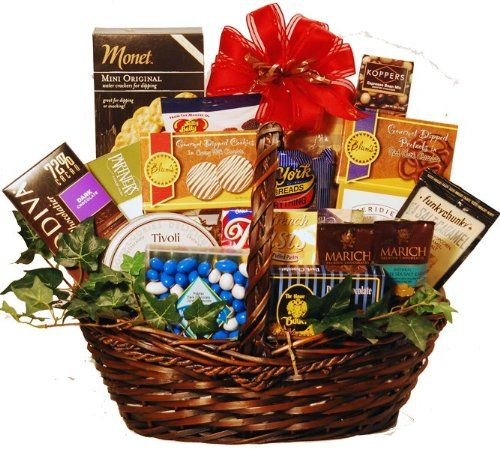 {Quick and Easy Gift Ideas from the USA}  Gourmet Kosher Sweets Gift Basket http://welikedthis.com/gourmet-kosher-sweets-gift-basket #gifts #giftideas #welikedthisusa