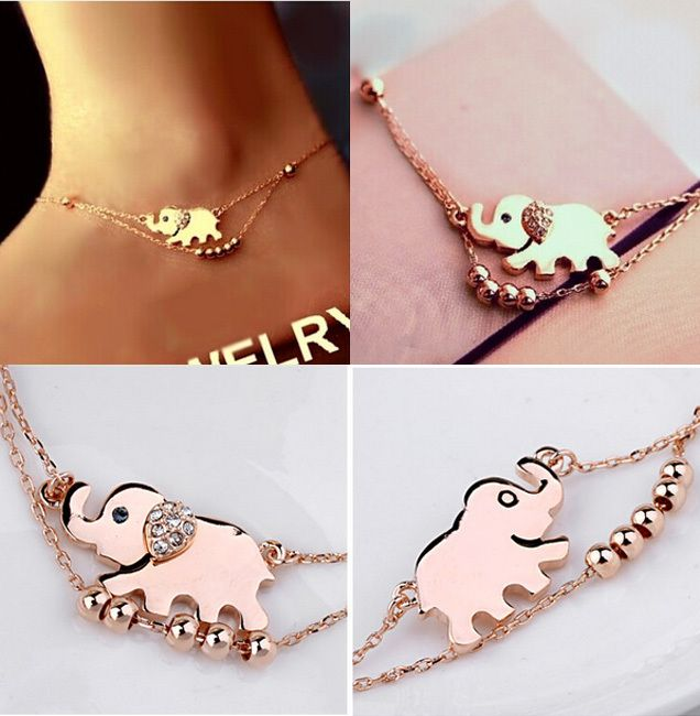 Elephant From India Barefoot Chain