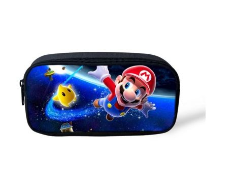 Super Mario PVC Printed Pencil Case