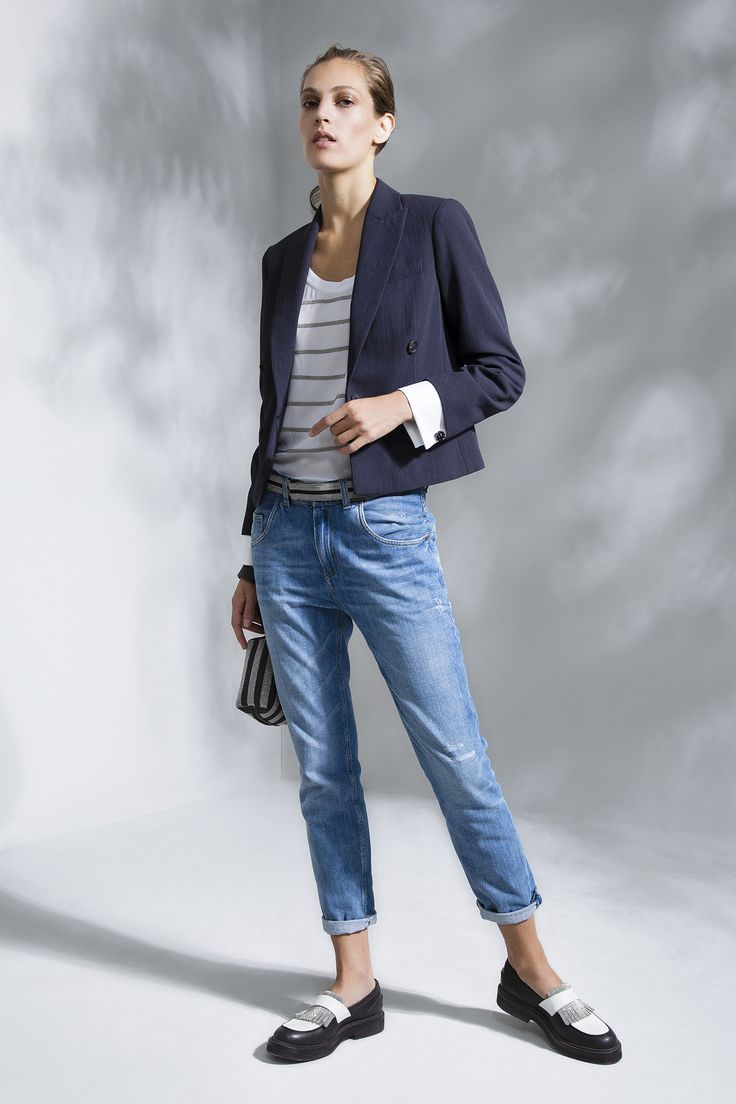 Jeans And Blazer Womens