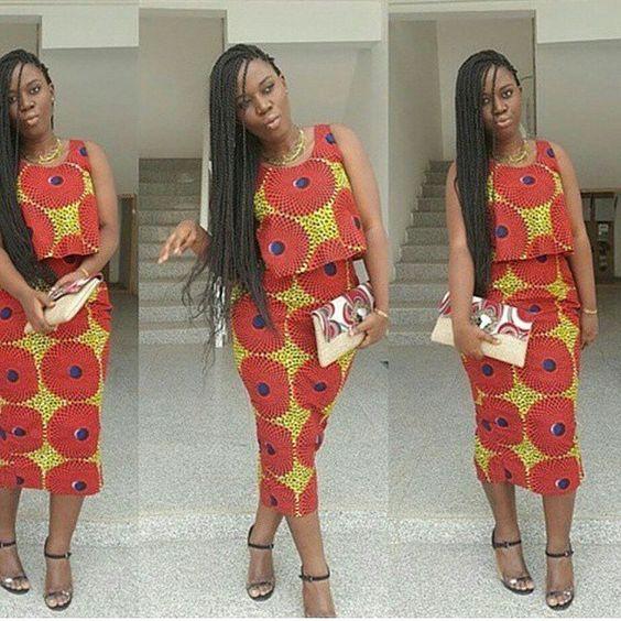 ankara style ispiration ~African fashion, Ankara, kitenge, African women dresses, African prints, African men's fashion, Nigerian style, Ghanaian fashion ~DKK: