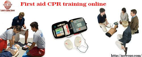 You can take a training class of CPR at nowcpr.com. We offer you first aid CPR training online in Chicago.