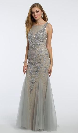 Metallic Lace Tulle Dress From Visany Bridal Boutique