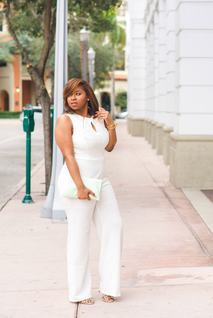 Simply Carmen Renee- A Fashion & Lifestyle Blog - White Jumpsuit - Simply Carmen Renee- A Fashion & Lifestyle Blog