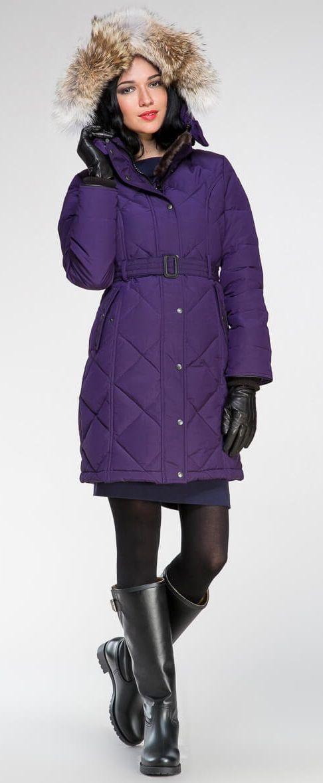 Kimberly parka Purple | Made in Canada | Arctic Bay®