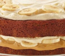 Banana Caramel Layered Cake: Absolutely delicious layer cake with layer upon layer of thick caramel, bananas and fresh cream. http://www.bakers-corner.com.au/recipes/sweetened-condensed-milk-recipes/condensed-milk-cakes/banana-caramel-layered-cake/