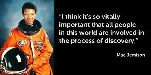Saturday Science Quote: Mae Jemison - First African American Woman ...