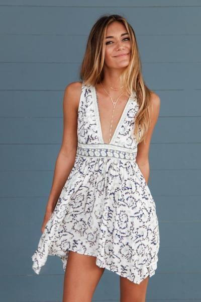 Wild Coast Printed Dress