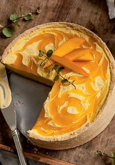 Cheesecake de manga Receitas