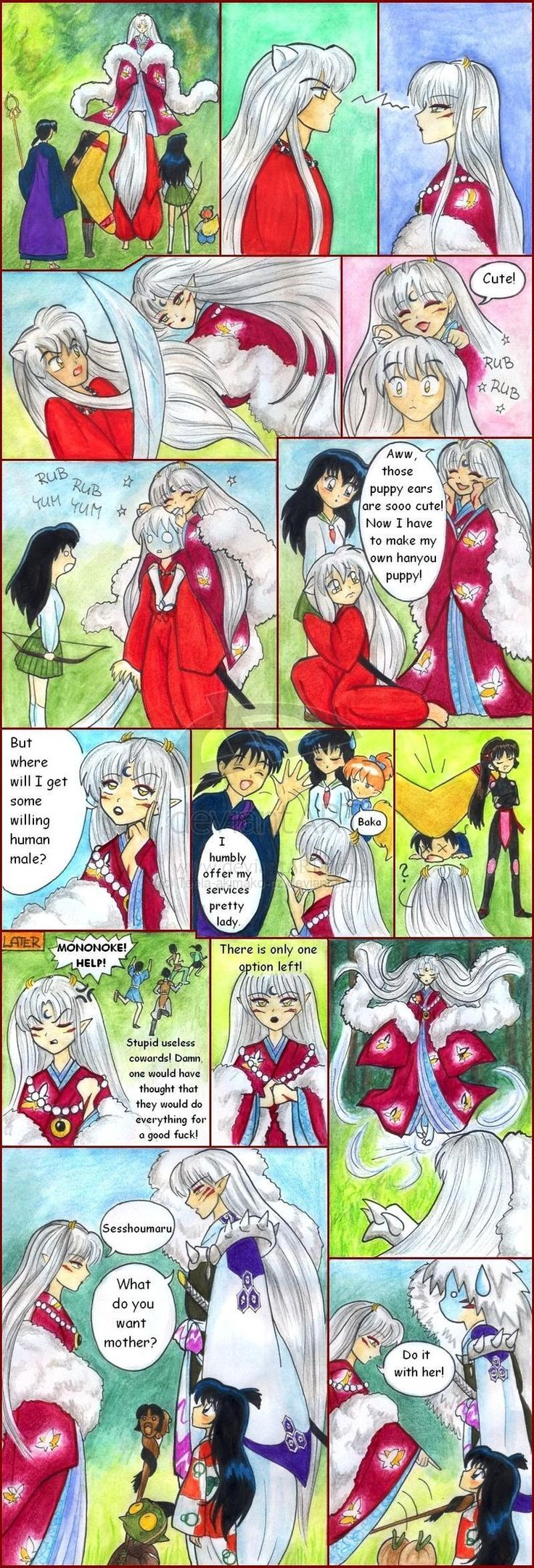 Inuyasha Funny Funny Inuyasha Pictures Images And Mvlc