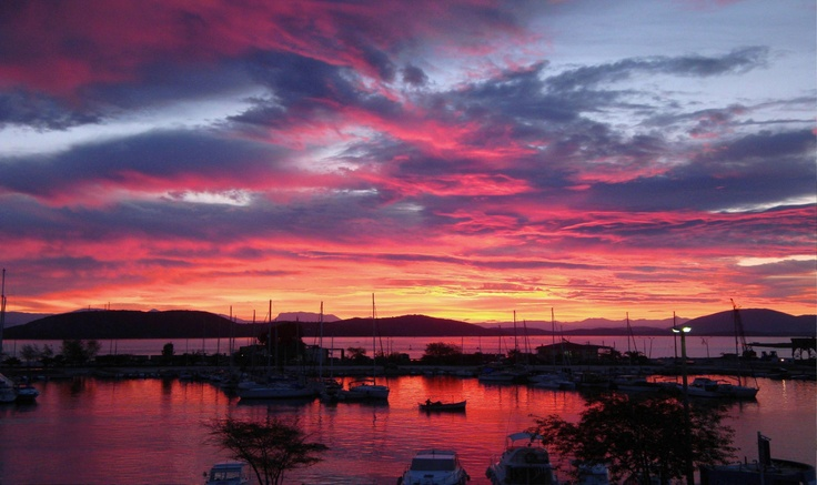 Sun Dawn over Preveza