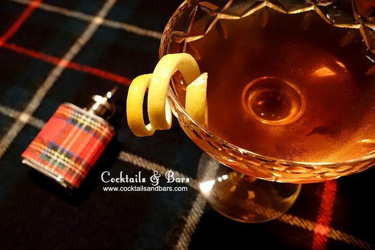 Whisky Cocktail Recipes for Burns Night: Bobby Burns - what to drink on Burns Night