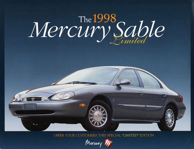 1998 Mercury | 1998 Mercury Sable Limited Edition