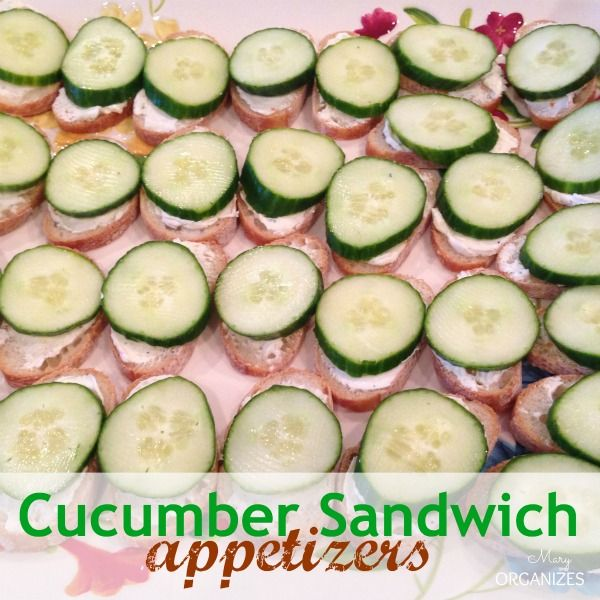 ... on Pinterest | Blt pasta salads, Cucumber sandwiches and Dips