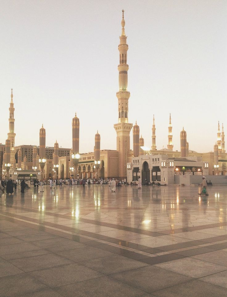 al-masjid al-nabawi (the prophet's mosque), madinah, saudi arabia | islamic art + architecture