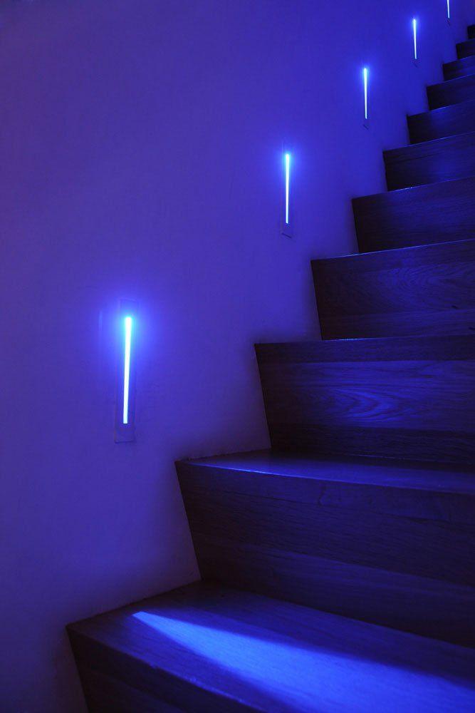moderne trapverlichting (LED verlichting)