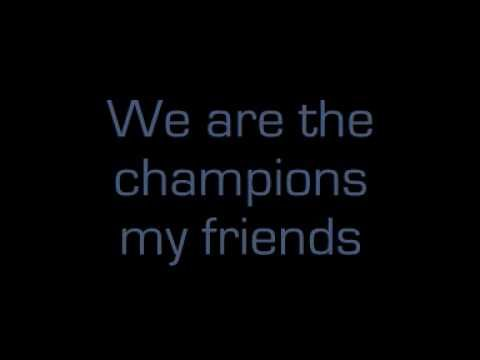 Queen - We Are The Champions [lyrics] - YouTube