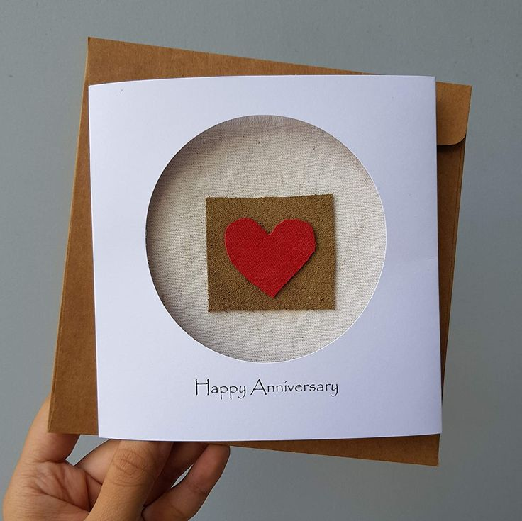 2nd year anniversary cotton gift card for her