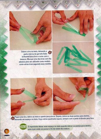 Фото мастер-класс по плетению. Как использовать пластиковые бутылки для плетения сумочек, корзиночек и других нужных в хозяйстве предметов. Поделиться ссылкой:…