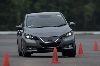 New Nissan Leaf prototype review