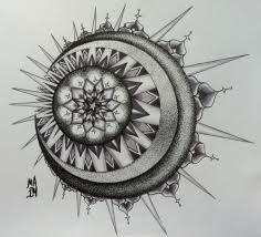 mandala sun moon tattoo - Hledat Googlem