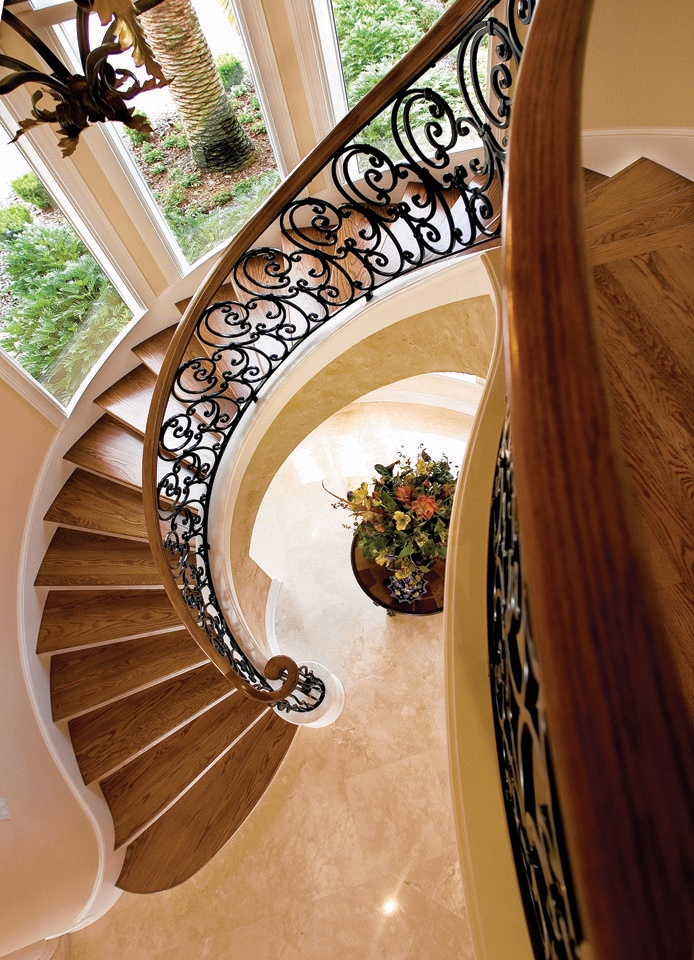 John B. Scholz Design....what A Beautiful Staircase