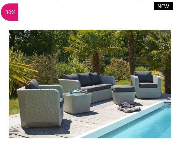 Souvent Les 25 meilleures idées de la catégorie Salon de jardin promo sur  SX17