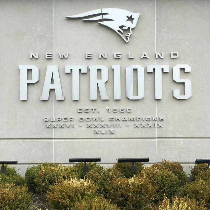 New wall at Gillette Stadium ~ Patriots Rock!!