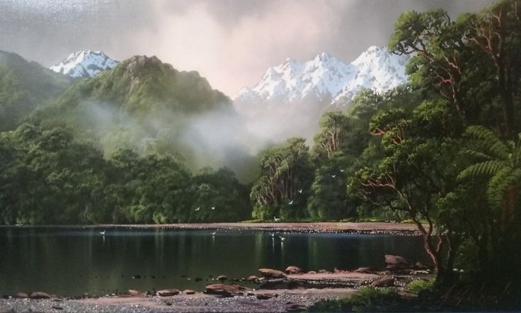 Fiord Impression by Tim Wilson