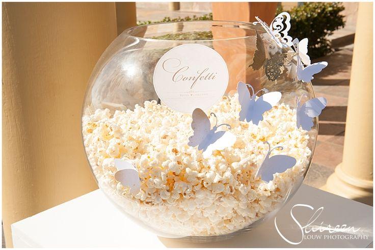 """Confetti - popcorn """"cornfetti"""""""