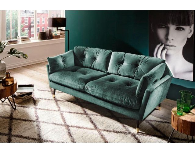 Sofa Japan 2 5 Sitzer Dunkelgrun Online Bei Poco Kaufen In 2020 Graues Sofa Sofa Design Sofa