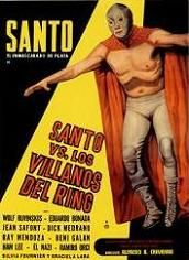 Santo Contra Los Villanos Del Ring (1968) $19.99; aka's: Santo vs. Los Villanos Del Ring/Santo vs. The Villains Of The Ring; The silver-masked one goes up against the Mafia (and his evil double) in the final Santo film shot in B&W. With Wolf Ruvinskis, Silvia Fornier and Eduardo Bonada. (In Spanish language, with English subtitles).