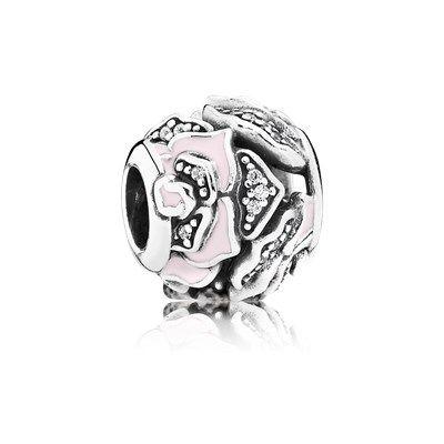 Pandora  bedel Roze verfijnde Roos 791527EN40