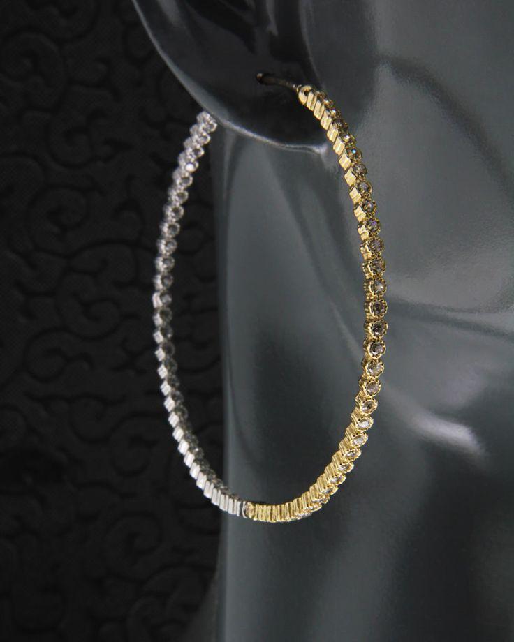 Σκουλαρίκια κρίκοι χρυσοί & λευκόχρυσοι Κ14
