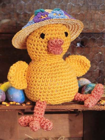 Easter Bonnet Chick