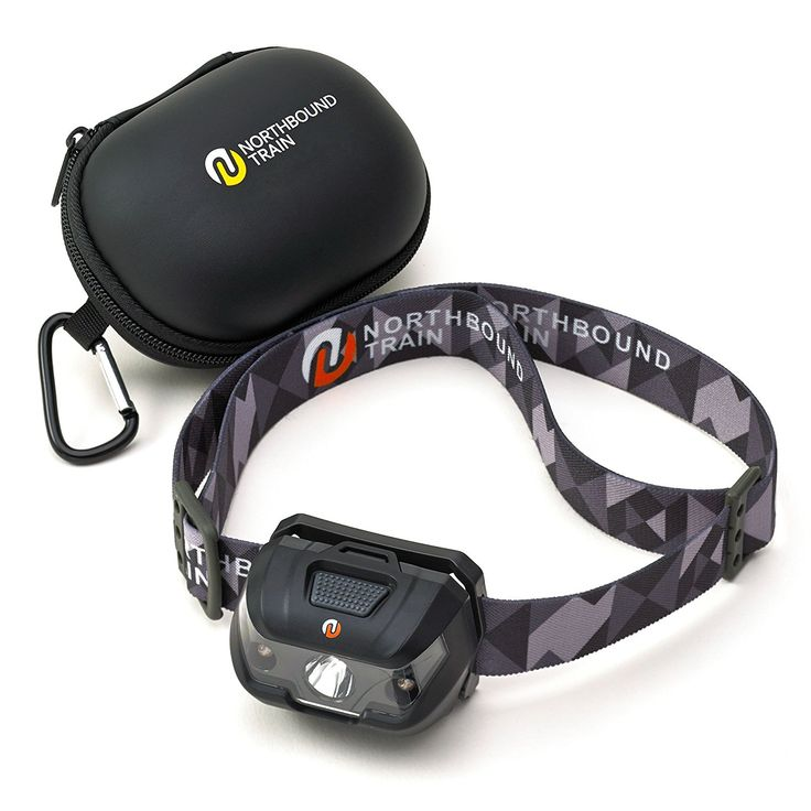 BEST Waterproof LED Headlamp Flashlight with Hard Case. Lightweight for Running, Camping, DIY. White, Red, Strobe Lights with Dimmer. Includes 3 Energizer AAA Batteries and  101 Headlamp Uses E-Book -- See this great image  : Camping gear