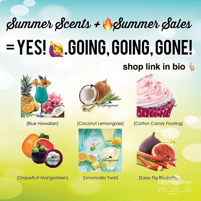 😳 These 6 Crazy Amazing Scent Trends Are Going Viral!! Shop http://corporate.gobefragrant.com/shop/Limited-Summer-Scents/! #onlythebest #scented #summer #scents #cottoncandy #coconut #lemongrass #limoncello #grapefruit #fig #rhubarb #smellssogood #melts #scentedcandles #smellsgood #madeinusa #melts #scent #buildyourempire #stayathomemom #momlife #shopnow #joinme #joinus #joinmyteam #shopsmall #safescents #shopsmall #shoponline #askmehow