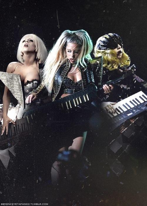 Lady Gaga em diferentes fases
